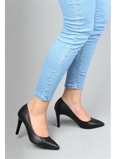 Modabuymus Modabuymus  Stiletto Topuklu Kadın Ayakkabı - Anger Siyah